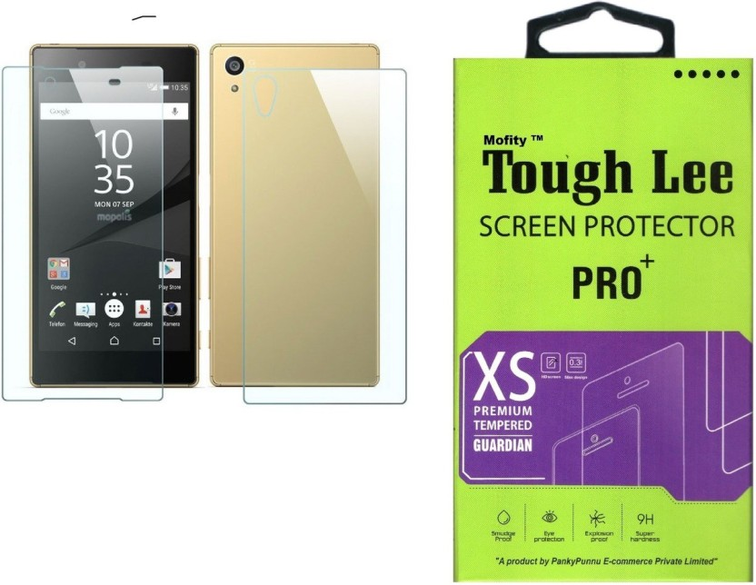 Tough Lee Tempered Glass Guard for Sony Xperia Z3 (5.2 inch, Transparent) (Front and Back)