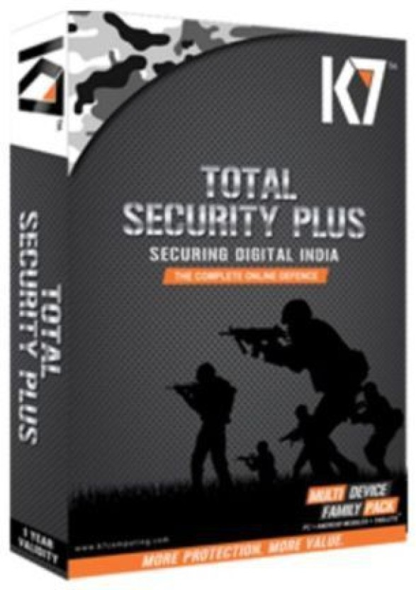 K7 Family Pack 3PC & 4 Mobile 1 year Protection.