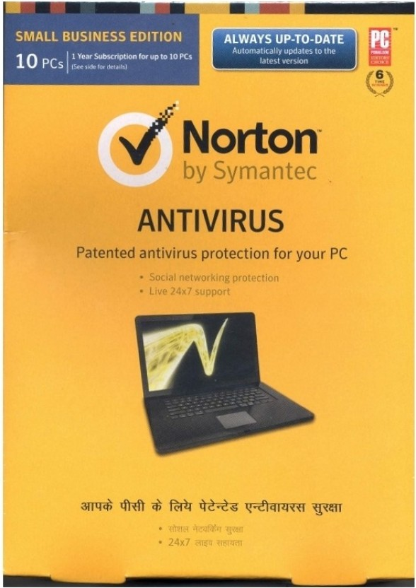 Norton AntiVirus 10 PC 1 Year