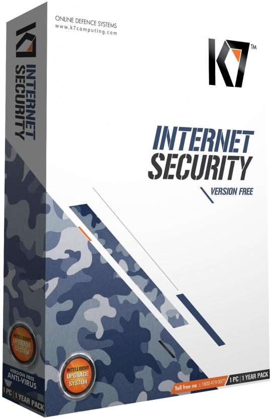 K7 Internet Security 1 PC 1 Year
