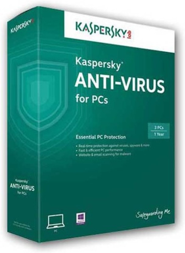 KASPERSKY Kaspersky Antivirus 1 PC / 1 Year