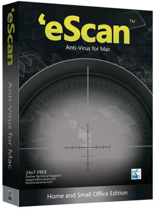eScan Anti-Virus For Mac 1 User 2 Years