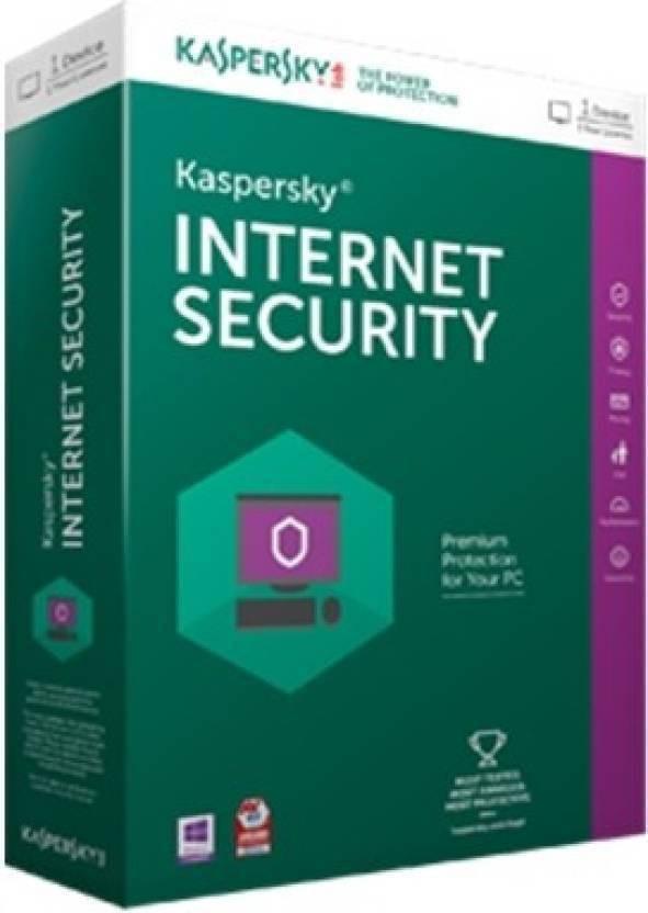 KASPERSKY Internet Security 2016 1 Pc 1 Year (1 Instalation cd ,365 days valid Serialkey New Slim Pack)