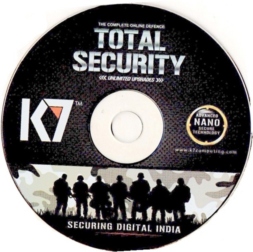 K7 Total Security 2015 1User 1 Year Installation Cd & Serial Key