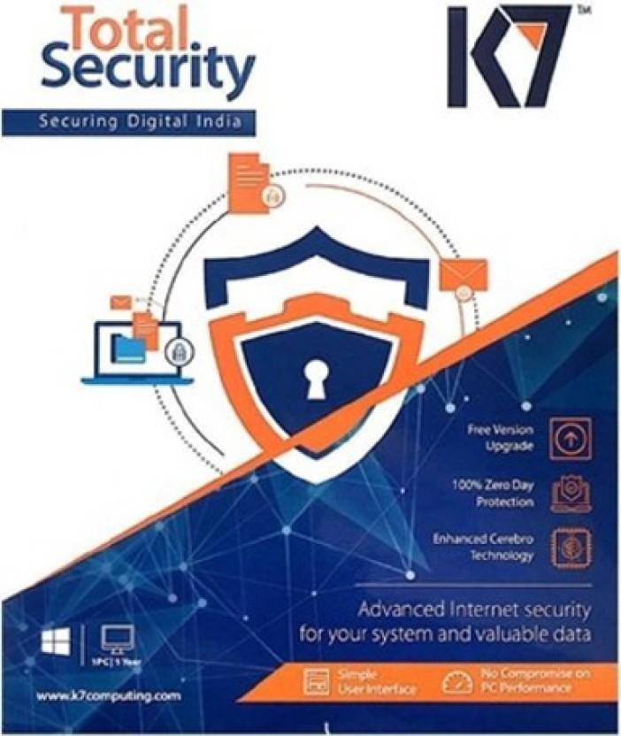 K7 Total Security 10 Pcs 1 year 2017