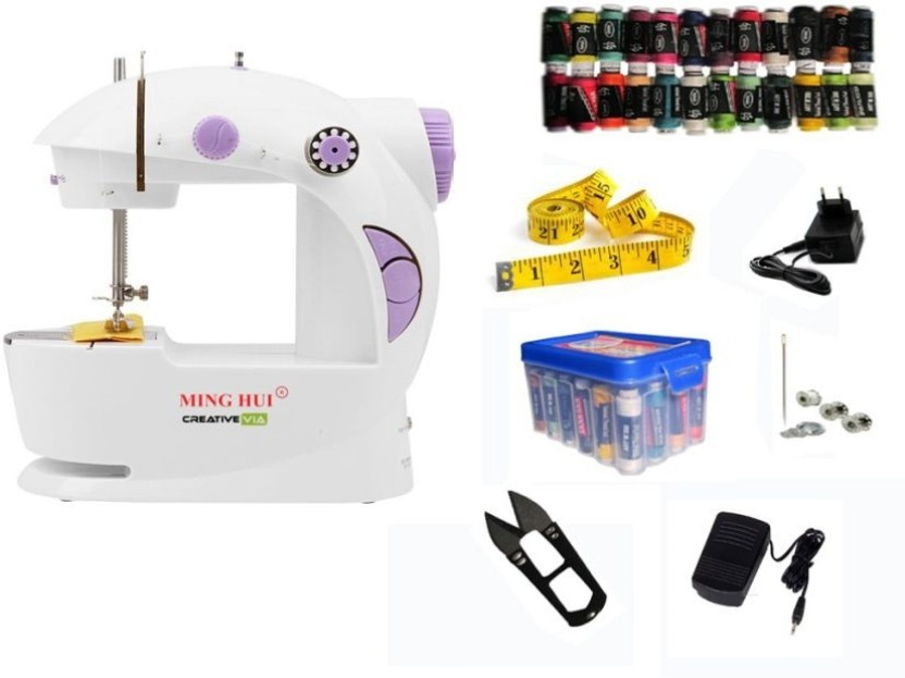 Creative Via JH-45 With Thread Box Mini Electric Sewing Machine