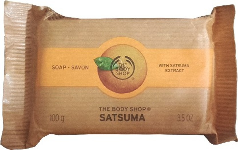 The Body Shop Satsuma Soap