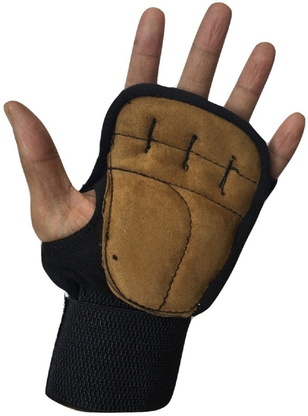 greenbee My Gym Gloves Gym & Fitness Gloves (Men, Black)