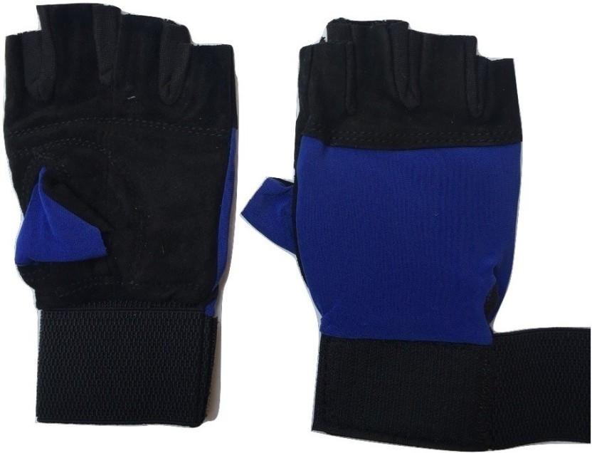 greenbee Gym Gloves Gym & Fitness Gloves (Men, Black)
