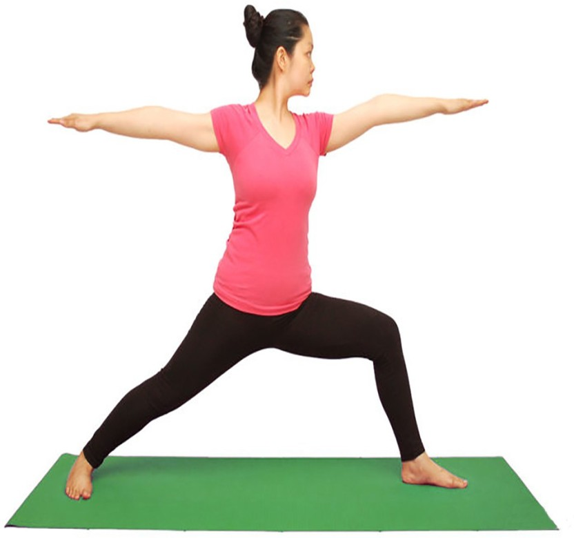 Rk Super Fit Yoga Mat Green 6 mm Green 6 mm Yoga Mat