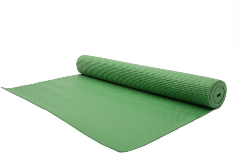 Relax Fitness Mat-6mm Green 6 mm Exercise & Gym, Yoga Mat