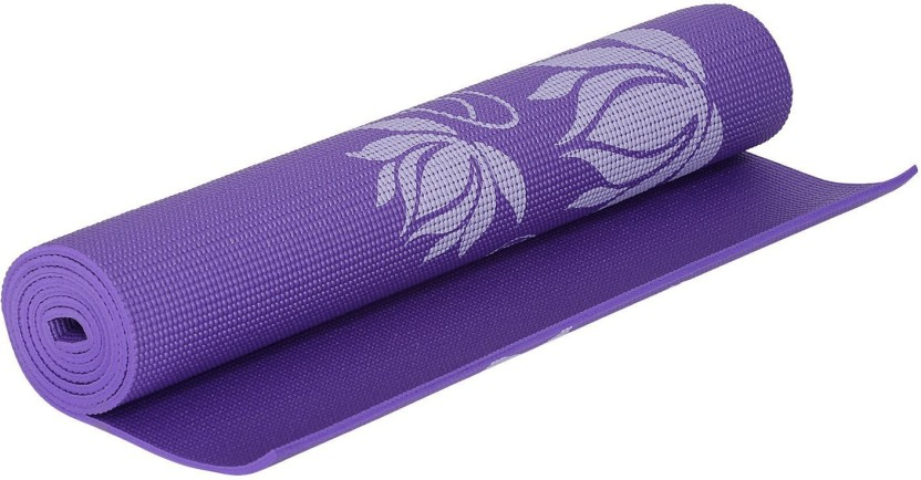 Strauss Floral Purple 6 mm Yoga Mat