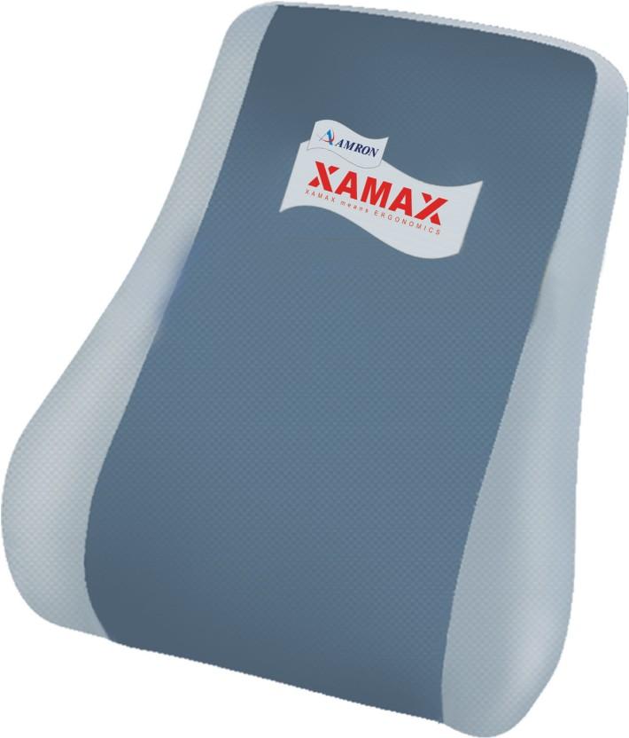 Amron Xamax Backrest Executive Back Support (Free Size, Grey)