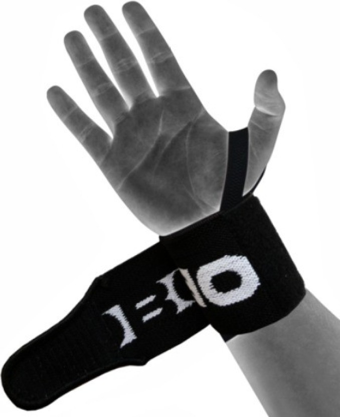 Kobo Pro Weight Lifting Straps Wrist Support (Free Size, Assorted)