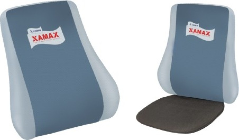 XAMAX EXECUTIVE PLUS Back Support (Free Size, Beige, Grey)