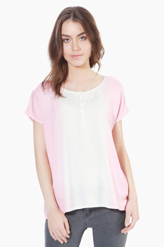 People Casual Short Sleeve Solid Women
