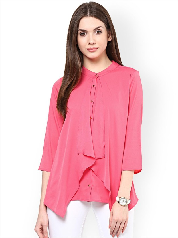 Rare Casual 3/4th Sleeve Solid Women