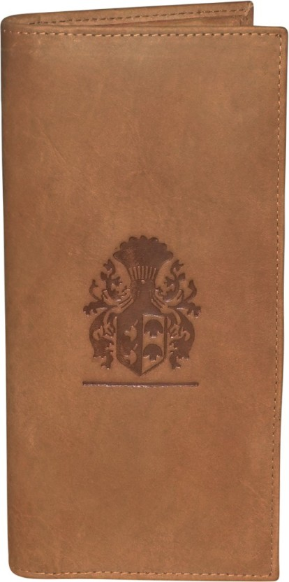 Kan Tan Hunter Leather Travel Document Holder/Organizer with 18 Card Slots For Men and Women