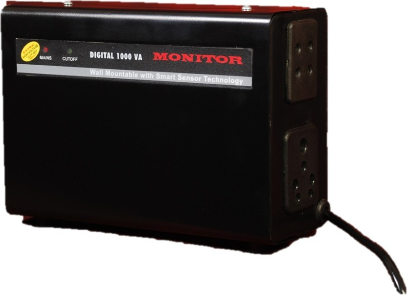 Monitor 2 Amps Voltage Stabilizer for LED TV Upto 32 inches With 5 - Year Warranty ( 100% Copper )