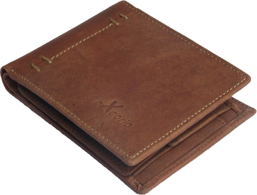 eXcorio Men Casual, Formal, Evening/Party Brown Genuine Leather Wallet