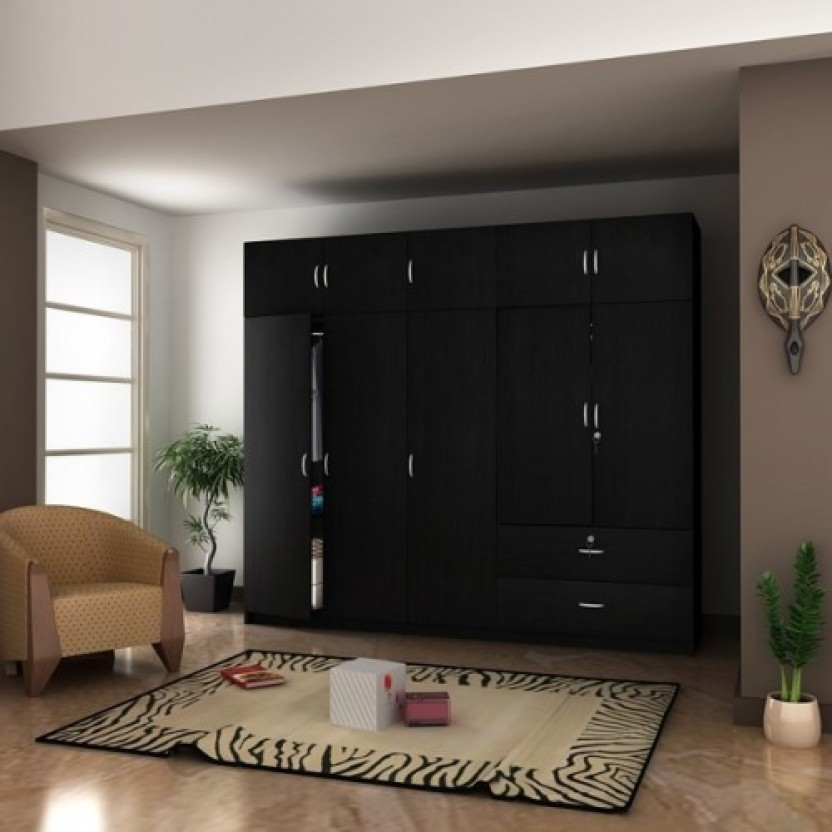 Housefull Engineered Wood 10 Door Wardrobe