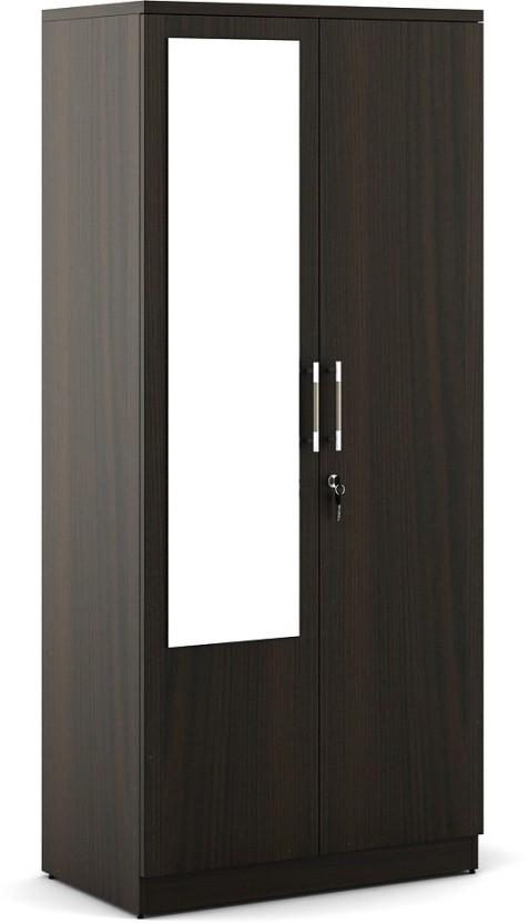 Spacewood Duet Engineered Wood 2 Door Wardrobe
