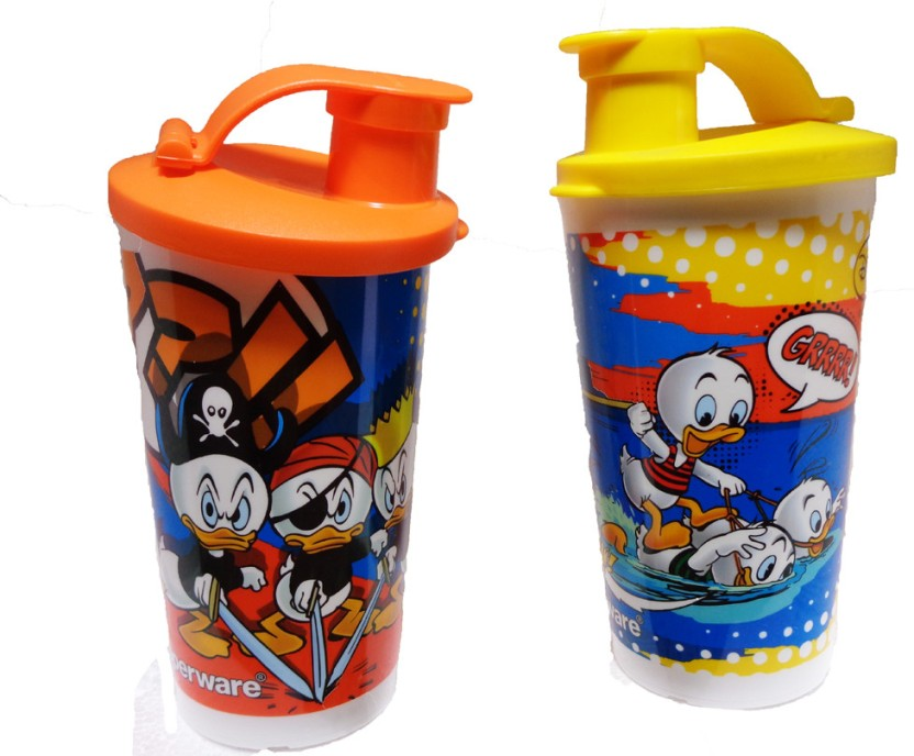 Tupperware Printed Tumbler With Sipper Seal 660 ml Water Bottles