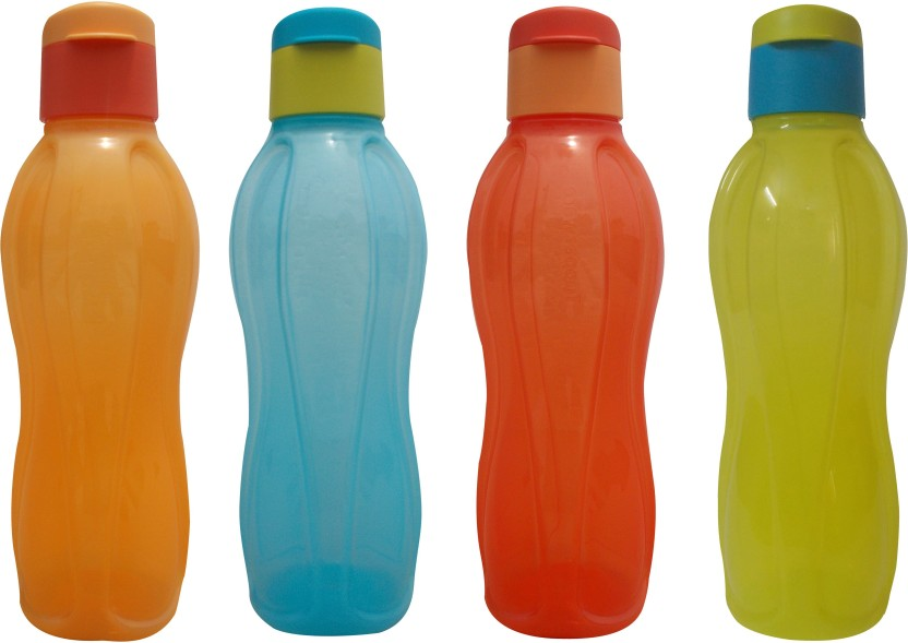 Tupperware Tupperware OPAQUE FlipTop 1 litter Water Bottles 4 pcs 1000 ml Bottle