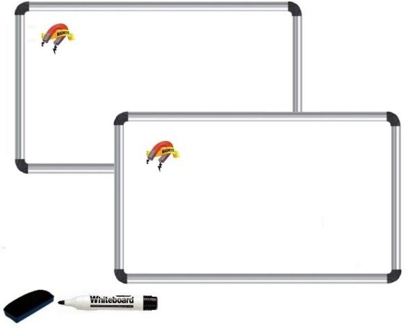 NECHAMS Resin Magnetic 1.5ft x 1ft Whiteboards