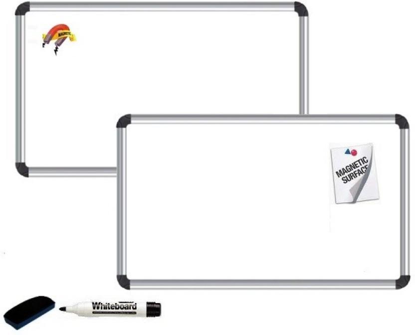 NECHAMS Resin Magnetic 1.5ft x 2ft Whiteboards