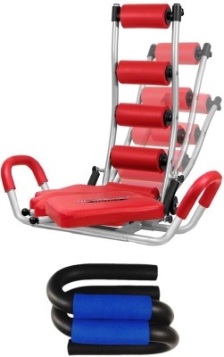 Telebrands Rocket Twister With Push Up Bar Ab Exerciser