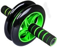 Fitness AD Double Wheel Ab Exerciser(Green, Black)