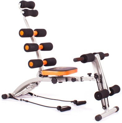 Everything Imported Super Six Packs Ab Builder Full Body, Back Leg Arms Exercise Machine Gym