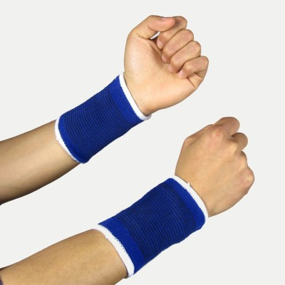Yechun Protector Sports Wrist Support (Free Size, Blue)