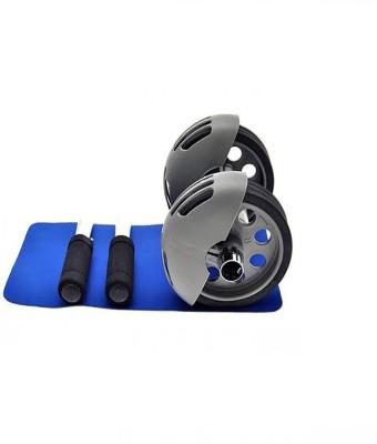 Inventure Retail Total Body Power Slider Strech Roller Exercise Equipment Wheel Pushup Device With Clip Holder Ab Exerciser