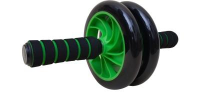 De Jure Fitness Green Ab Roller Foam Handle Ab Exerciser