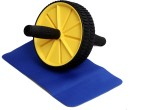 SPOFIT AB Wheel Ab Exerciser (Yellow, Bl...
