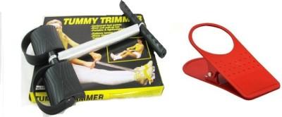 Tummytrimmer Single Spring Resistance Tube Body Waist fitness Machine Ab Exerciser