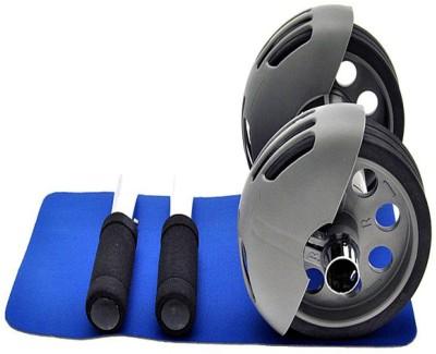 Shopper52 Power Stretch Wheel Roller For Fitness Slim Body - PRSTRL Ab Exerciser(Multicolor)