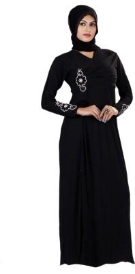Triveni TSEDB1479 Lycra Solid Burqa Yes