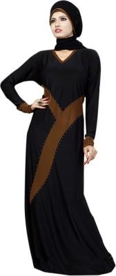 Saree Exotica 14560 Lycra, Crepe Self Design Abaya Yes