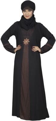 Hawai WB00036 Lycra Self Design Burqa Yes