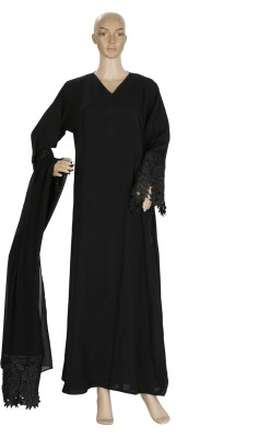 Hijab Studio HSBNL055 Nida Solid Burqa Yes