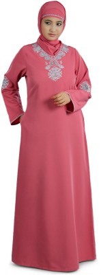 MyBatua AY-205-M Kashibo Self Design Abaya Yes
