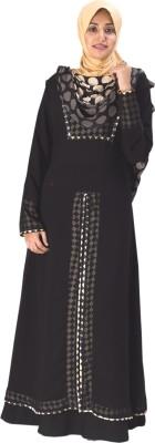 Parvin 3122XL Georgette Solid Burqa No