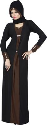Saree Exotica AB14220 Lycra Printed Abaya No