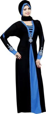 Saree Exotica 14530 Lycra, Crepe Self Design Abaya Yes