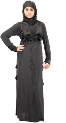 Hawai WB00272 Lycra Self Design Burqa Yes