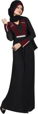 Saree Exotica AB14160 Lycra Printed Abaya No