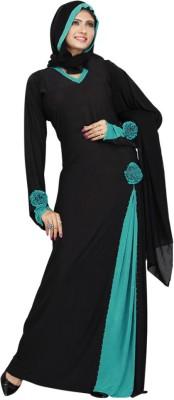Saree Exotica AB14060 Lycra Printed Abaya No